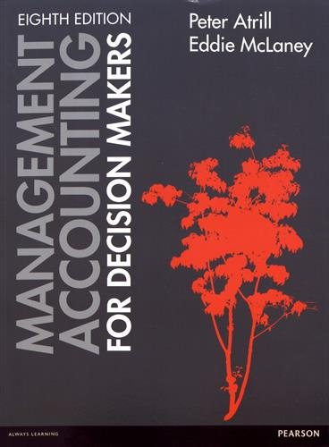 9781292072432: Mangement Accounting for Decision Makers