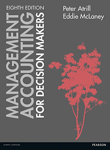 9781292072531: Management Accounting for Decision Makers with MyAccountingLab
