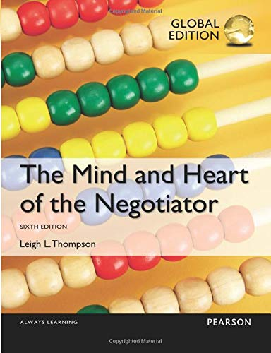 9781292073330: The Mind and Heart of the Negotiator