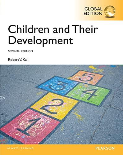 9781292073767: Children and their Development, Global Edition