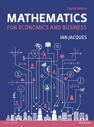 9781292074238: Mathematics for Economics and Business