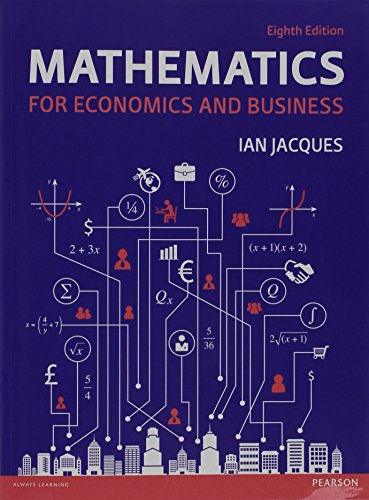 9781292074337: Mathematics for Economics for Business + MyMathLabGlobal