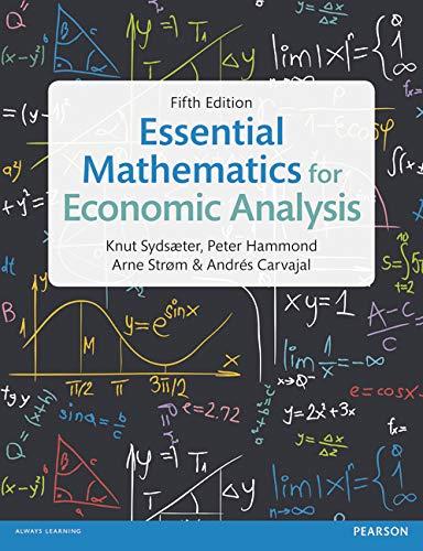 9781292074610: Essential Mathematics for Economic Analysis
