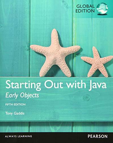 9781292076041: Starting Out with Java: Early Objects