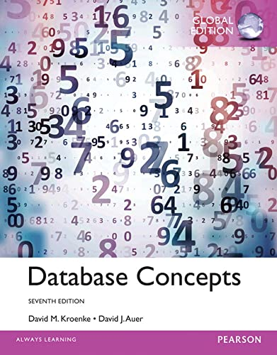 9781292076232: Database Concepts, Global Edition