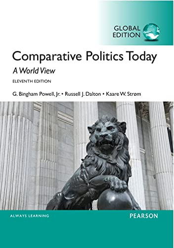 9781292076959: Comparative Politics Today: A World View, Global Edition