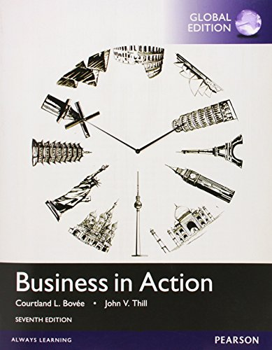 9781292077062: Business in Action, Global Edition