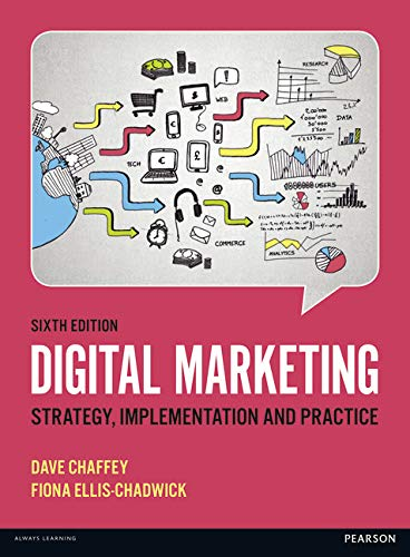 9781292077611: Digital Marketing: Strategy, Implementation and Practice