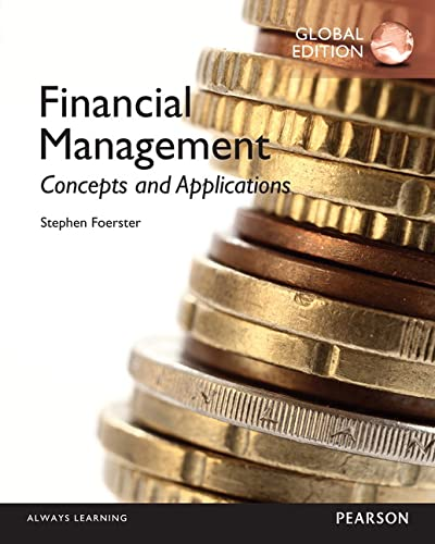 9781292077833: Financial Management: Concepts and Applications, Global Edition