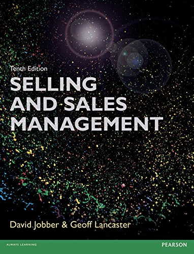 9781292078007: Selling and Sales Management 10th edn (10th Edition)