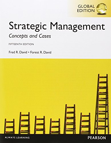 9781292078144: Strategic Management: Concepts and Cases, with MyManagementLab, Global Edition