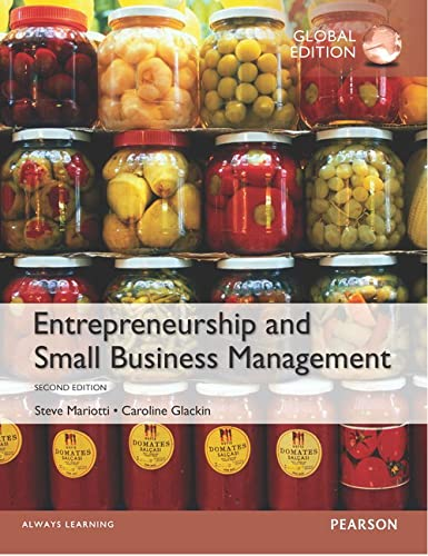9781292078670: Entrepreneurship and Small Business Management, Global Edition