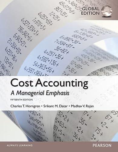 9781292078991: MyAccountingLab -- Access Card --- Cost Accounting, Global Edition