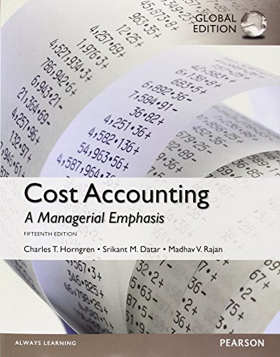 9781292079080: Cost Accounting with Myaccountinglab