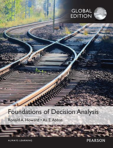 9781292079691: Foundations of Decision Analysis