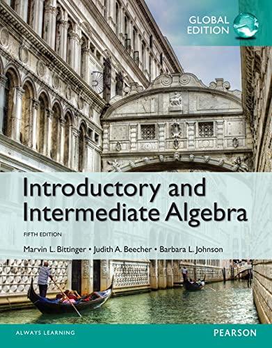 9781292080000: Introductory and Intermediate Algebra, Global Edition