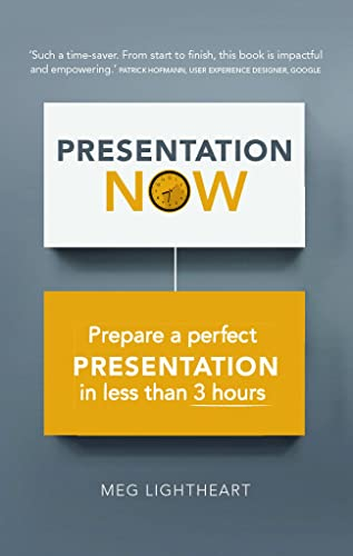9781292081458: Presentation Now: Prepare a Perfect Presentation in Less Than 3 Hours