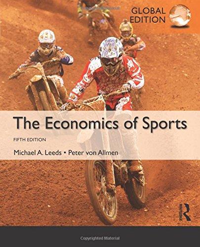 9781292081786: The Economics of Sports: International Edition