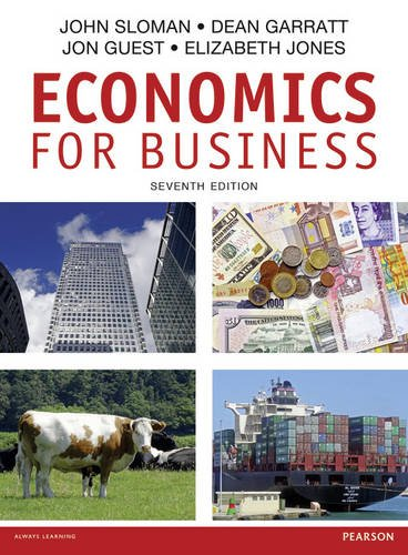 9781292082103: Economics for Business, 7th ed.