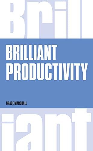 9781292083407: Brilliant Productivity (Brilliant Business)