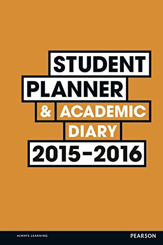 9781292083513: Student Planner and Academic Diary 2015-2016.