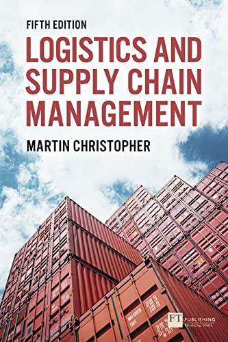 9781292083797: Logistics & Supply Chain Management