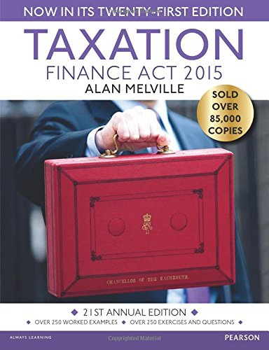 9781292086293: Taxation: Finance Act 2015
