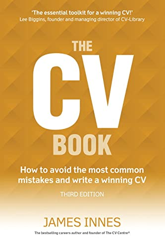 9781292086477: The CV Book: How to avoid the most common mistakes and write a winning CV