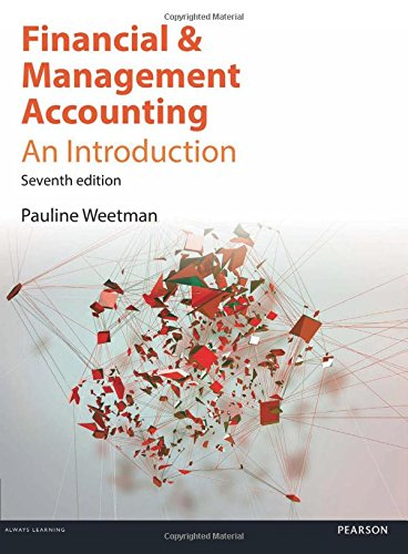 9781292086590: Financial & Management Accounting: An Introduction, 7th ed.