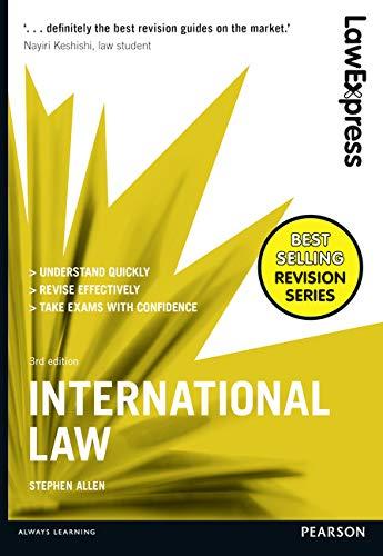 International Law: Uk Edition (Law Express): Allen, Stephen