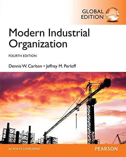 9781292087856: Modern Industrial Organization, Global Edition
