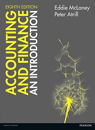 9781292088297: Accounting and Finance: An Introduction 8th edition