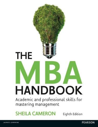 9781292088686: MBA Handbook