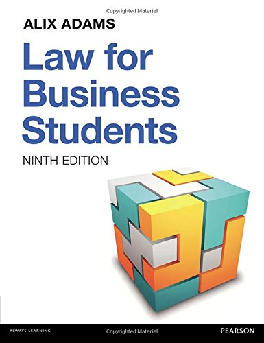Law for Business Students: Ms Alix Adams