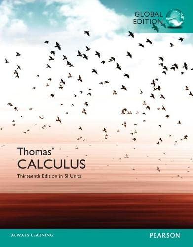 9781292089799: Thomas' Calculus in SI Units