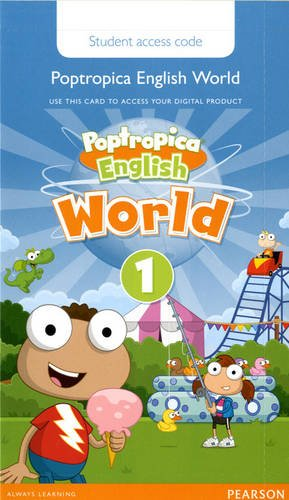 9781292090849: Poptropica English American Edition 1 Student Online World Access Card