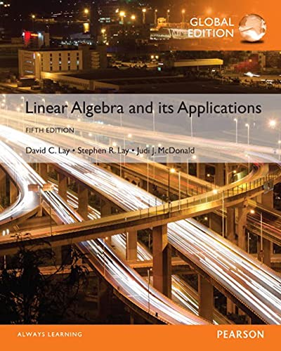9781292092232: Linear Algebra and Its Applications, Global Edition