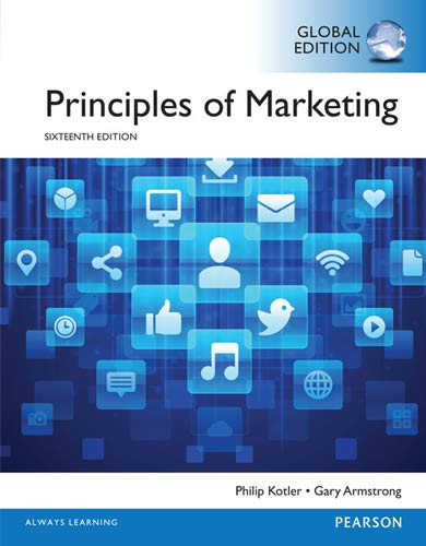 9781292092485: Principles of marketing