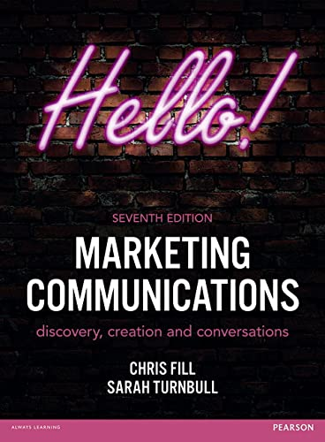 9781292092614: Marketing Communications: discovery, creation and conversations (7th Edition)