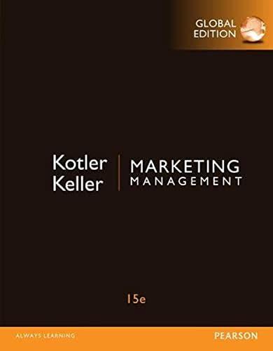 9781292092621: Marketing Management, Global Edition