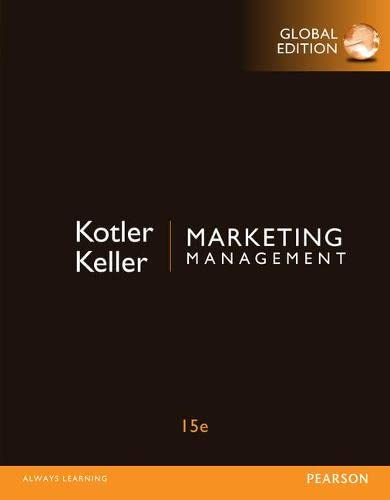 9781292092621: Marketing Management, Global Edition
