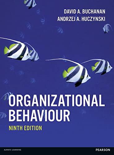 9781292092881: Organizational Behaviour