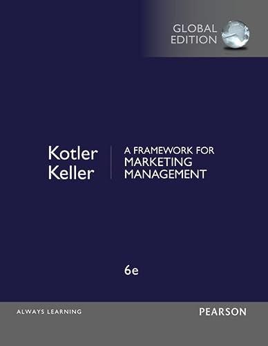 9781292093147: A Framework for Marketing Management