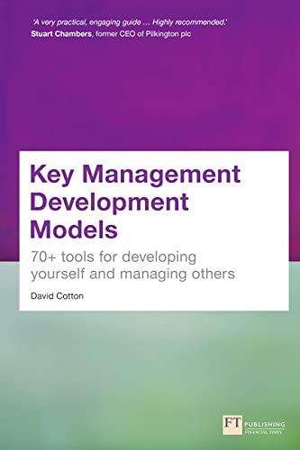 Key Management Development Models: Cotton, David