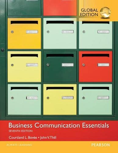 9781292093383: Business Communication Essentials with MyBCommLab, Global Edition