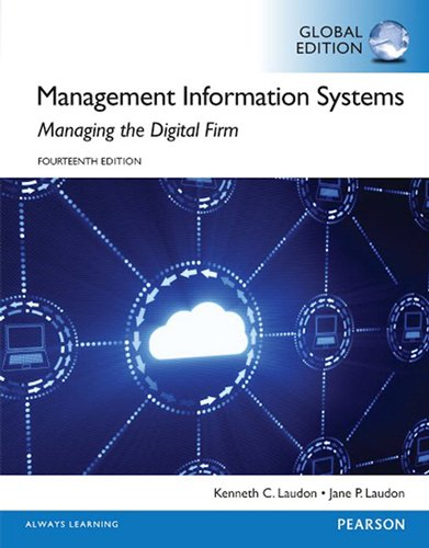 9781292094007: Management Information Systems, Global Edition
