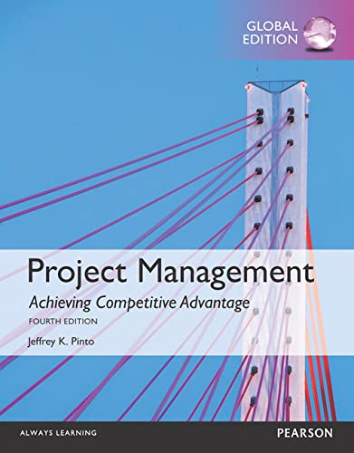 9781292094793: Project Management: Achieving Competitive Advantage, Global Edition