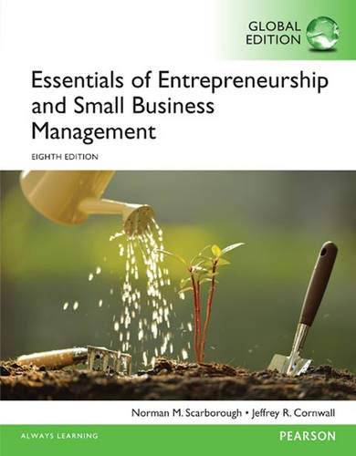 9781292094861: Essentials of Entrepreneurship and Small Business Management, Global Edition
