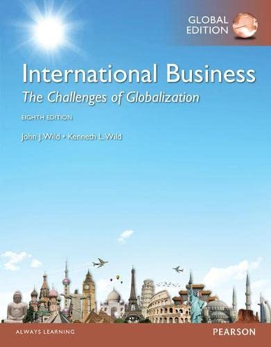 9781292095042: International Business: The Challenges of Globalization, Global Edition