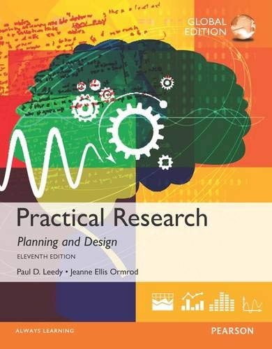 9780133741322 Practical Research Planning And Design 11th Edition Abebooks Paul D Leedy
